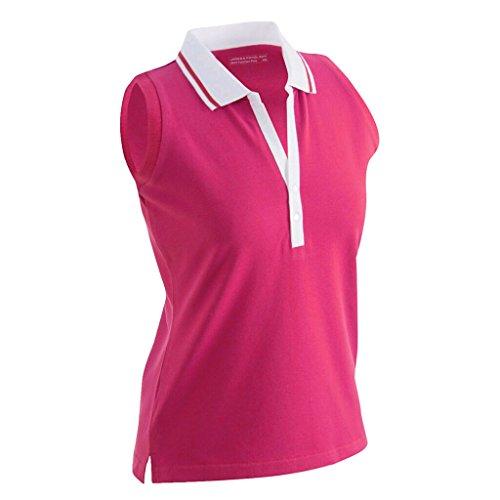 James & Nicholson JN159 Dames Stretch Mouwloos Poloshirt