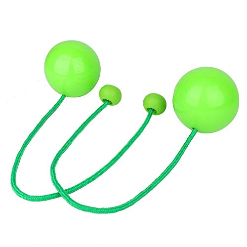 ChuhapII YuXing Pair of Professional Contact Poi Juggling Balls with 3.4' Stage Ball and 19.3' Nylon...