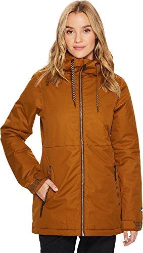 Volcom Damen ACT Insulated 2 Layer Shell Snow Jacket Isolierte Jacke, Kupfer, X-Klein