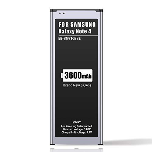 ZMNT 3600mAh Akku für Samsung Galaxy Note 4, Ersatz der Verbesserte Kapazität Interner Lithium-Ionen-Akku für Samsung Note 4 (OHNE NFC)