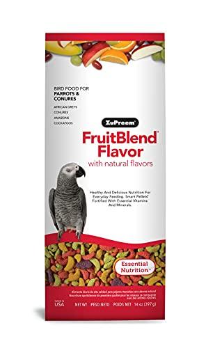 Zupreem - Alimento para Aves | Pienso Agapornis y Ninfas (Fruit Blend, 200 g) ✅