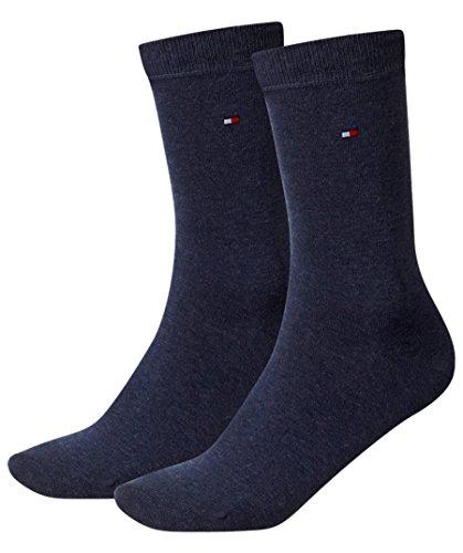 Tommy Hilfiger Tommy Hilfiger 2 Pack Plain Socks - Jeans Blue