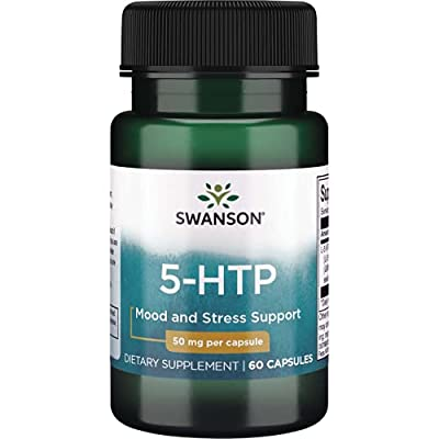 Swanson Amino Acid 5-Htp 50 Milligrams 60 Capsules