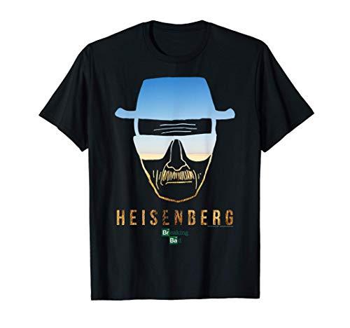 Breaking Bad Heisenberg Desert Horizon Outline Maglietta