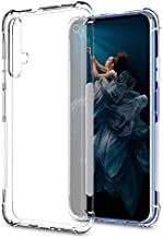 Huawei nova 5T & Honor 20 / 20s Case Cover Air Cushion Soft TPU Silicone Clear Transparent Cover Airbag Shockproof Case Bumper Shell for Huawei nova 5T & Honor 20 / 20s (Clear)