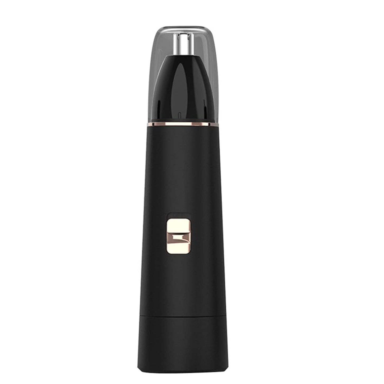 気難しい真似るワイン携帯用電気鼻毛を充電する電子鼻耳毛トリマー男性女性無痛トリミングのUSB - 携帯便利 男女兼用 (Color : Black, Size : USB)