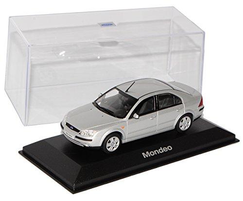 Minichamps Ford Mondeo Limousine Silber 2000-2007 1/43 Modell Auto Modellauto