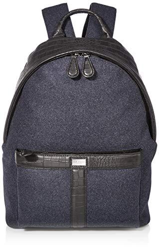 Ted Baker Herren MXB-NIMF-XC9M-wool backpack Rucksäcke, Navy, Einheitsgröße
