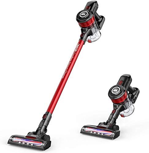ONSON Cordless Vacuum Cleaner, Vacuum Cleaner, Powerful Suction 2 in 1 Stick Vacuum for Hardwood...