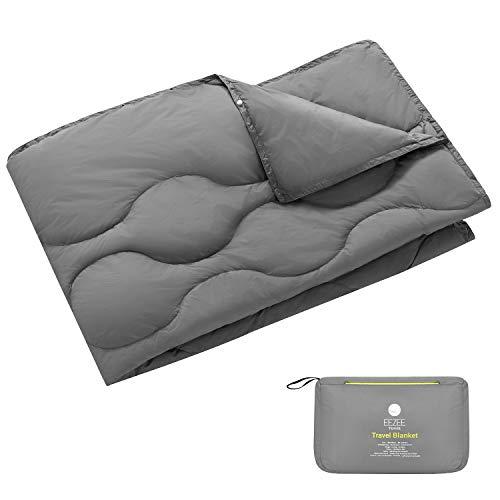 EEZEE Leichte Reisedecke Outdoor Decke Wasserabweisend Kompakt für Camping Picknick Reisen 150 × 100 cm