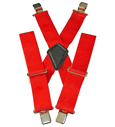 Bretelles moto - rouge