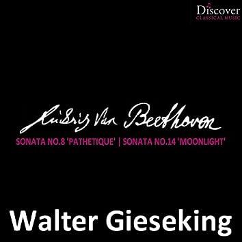 "Beethoven: Sonata No. 8 ""Pathetique"", Sonata No. 14 ""Moonlight"""
