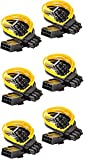 6 Pack MogTech PCI-E 8 pin Female to Dual (6+2) pin Male Express Splitter Power Cables Crypto Mining Ethereum BTC Bitcoin 9 Inches