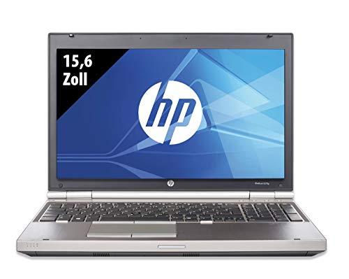 HP Elitebook 8570p - 15,6 Zoll - Core i5-3320M @ 2,6GHz - 8GB RAM - 128GB SSD - DVD-RAM - WXGA (1366x768) - Win10Home A (Zertifiziert und Generalüberholt)