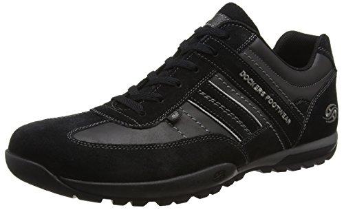 Dockers by Gerli Herren 36HT001-204320 Sneakers, (Schwarz/Grau 120), 45 EU