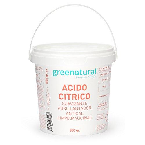 greenatural ácido cítrico