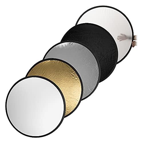 Fotodiox Pro 5-in-1 Reflector - 42in (100cm)...