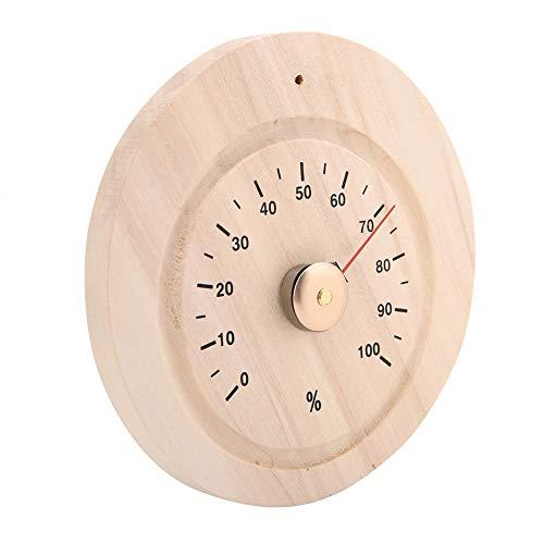 Mumusuki Sauna Temperatuurmeter voor de luchtvochtigheid van de camera Hygrometer Digitale sauna van hout Accessoires voor het meetapparaat van stoombad voor sauna, badkamer, kantoor