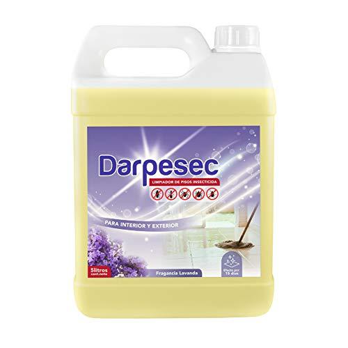 Fregasuelos insecticida producto limpieza anti cucarachas, hormigas, pulgas, chinches, arañas y todo tipo de insectos limpiador friega suelo industrial y hogar 5 litros perfumado lavanda