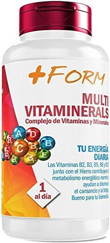 Vitamin complex with minerals, vitamin C, vitamins B2, B3, B5, B6 and B12 and iron - Multivitamin to increase energy and well-being of your body (90 capsules)