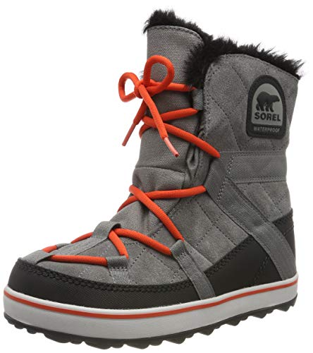 Sorel GLACY EXPLORER SHORTIE Botas Mujer, Gris (Quarry), 40.5 EU
