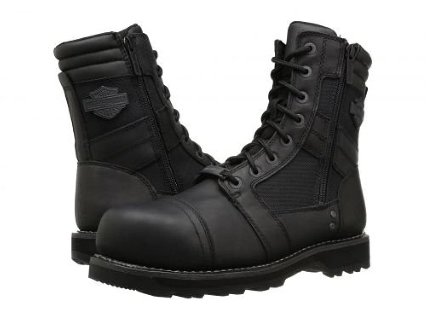 海岸タンザニア印象派Harley-Davidson(ハーレーダビッドソン) レディース 女性用 シューズ 靴 ブーツ レースアップブーツ Boxbury Composite Toe - Black [並行輸入品]