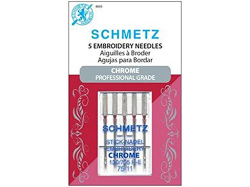 SCHMETZ Embroidery Size Emb Sz 75/11