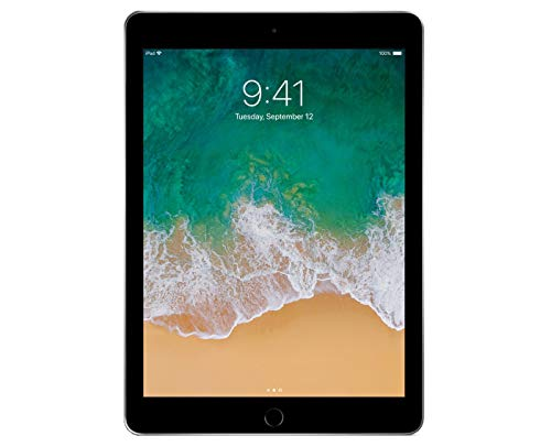 Apple iPad Pro Tablet (128GB, LTE, 9.7in) Space Gray (Renewed)