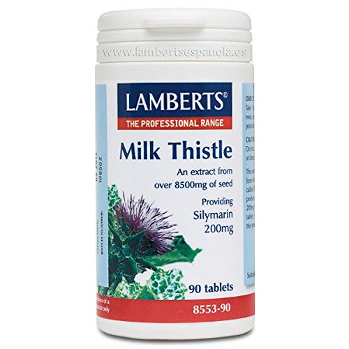 Lamberts Milk Thistle 8500mg (Silymarin 200mg) 90tabs