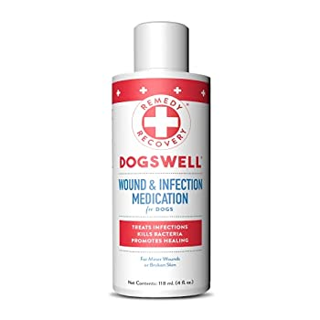 Cardinal Laboratories Remedy and Recovery Wound and Infection Medication for Pets 4-Ounce White  43804