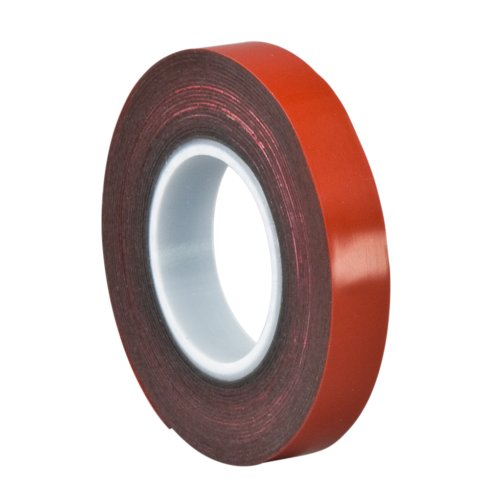 3M - 1470107 VHB Tape 5925 Permanent Bonding Tape Roll- 1in. x 15ft. Conformable Black Tape with Acrylic Adhesive