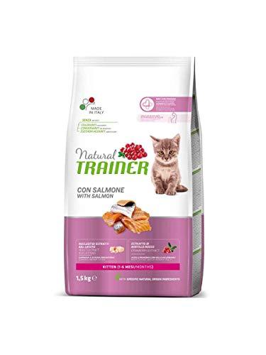 Natural TR. Gatto Kitten Salmone kg. 1.5