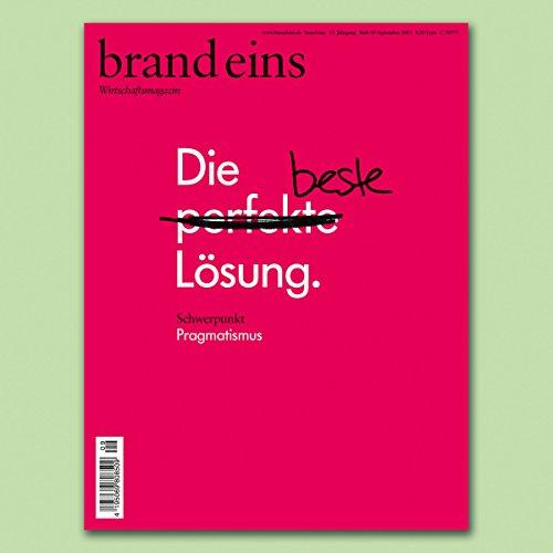 brand eins audio: Pragmatismus audiobook cover art