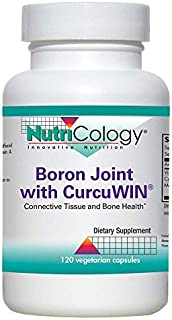 NutriCology Boron Joint with CurcuWIN 120 Vegetarian Capsules