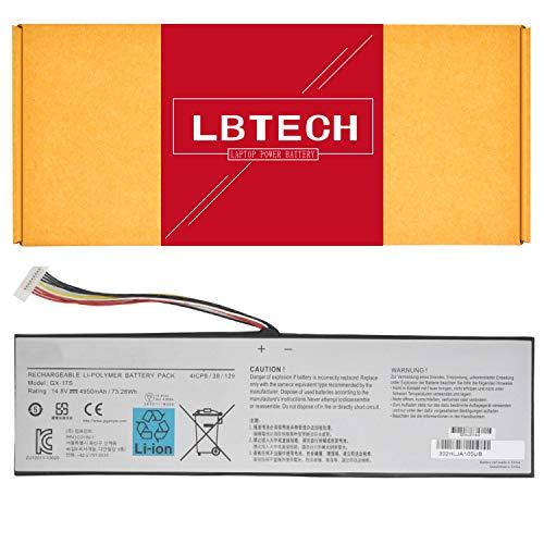 LBTECH Compatible GX-17S Laptop Battery Replacement for GIGABYTE AORUS X3 Plus X5 V5 X7 V2 V3 V4 V5 V6 X5S V5 Series 14.8V 73.26Wh 4950mAh
