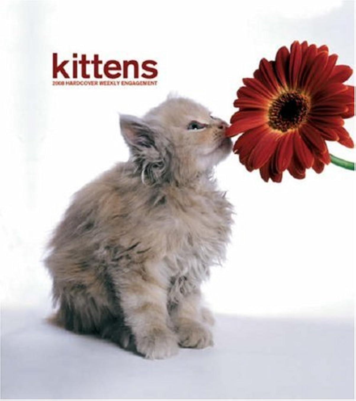 すぐに最大限リーフレットKittens 2008 Hardcover Weekly Engagement: Wkly Eng