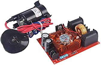 DC 12-30V ZVS Tesla Coil Flyback Driver/SGTC/Marx Generator + Ignition Coil + Fan 24V