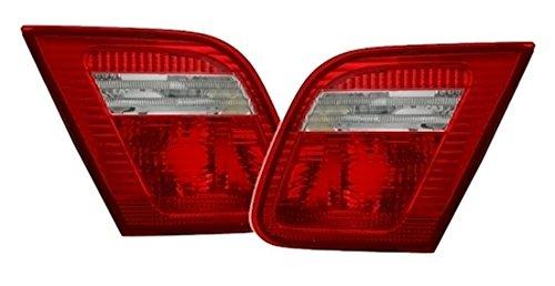 AD Tuning DEPO Rückleuchten Innenteile im Set Facelift Optik Rot Weiß