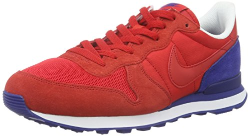 Nike Herren Internationalist Turnschuhe, Rot, 42.5 EU