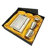 QXYOGO Petaca Botella de Mancha de Cadera con Espejo de Acero Inoxidable Creativo Mini 5oz con Conjuntos de flagrón de Embudo 1 (Color : Plum)