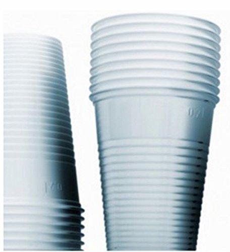 3000 Bicchieri Di Plastica Bianchi Classici Bicchiere Bianco no Carta per acqua