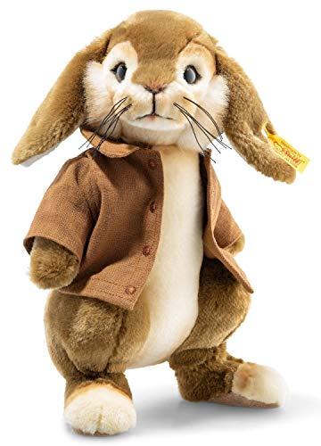 Steiff 355257 Benjamin Bunny 26 cm braun/Creme 3-Fach gegliedert (Arme und Kopf) stehend