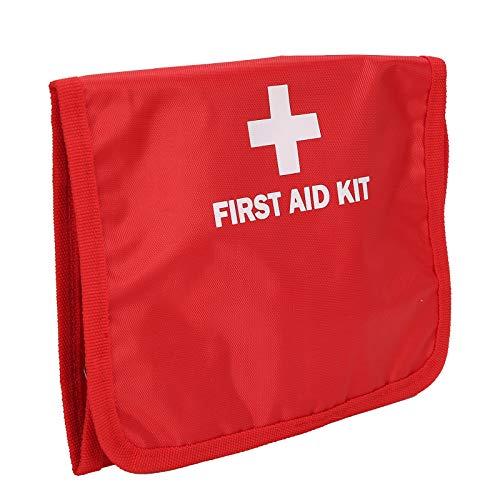 Bolsa de auxílio de emergência, bolsa de medicamentos, portátil para casa, escritório, escola, acampamento de treinamento ao ar livre