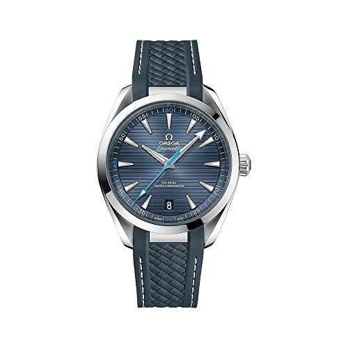 Omega Seamaster Aqua Terra automatico movimento blu quadrante orologi da uomo 220.12.41.21.03.002
