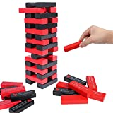 54 PCS Drinking Game with 36 Different Rules and Games Love Stacking Tower Valentine Day Couple Game for Adults