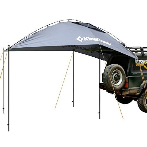 KingCamp Heckzelt Autozelt Vorzelt für Auto/Kombis/SUV Pop Up Zelt tragbare Sonnenschirm Garten Markise mit Tragetasche wasserdicht für Outdoor Camping Party