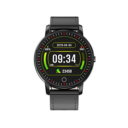 YEYOUCAI Fitness Tracker M324 Pulsera inteligente de 1 pulgada, compatible con la frecuencia cardíaca y la presión arterial, recordatorio de sedentarismo, monitoreo del sueño/recordatorio de llamada