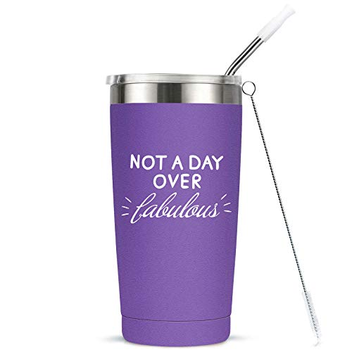 Not A Day Over Fabulous Tumbler - 8 Colors