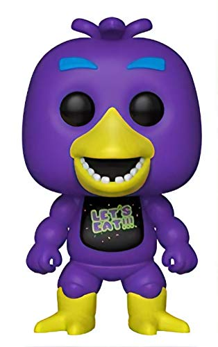 Funko - Five Nights at Freddy'S Black Light - Blacklight Chica Exclusive Pop 10 cm - 0889698341349