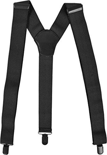 normani Uni Hosenträger mit extra robusten Clips Farbe Schwarz